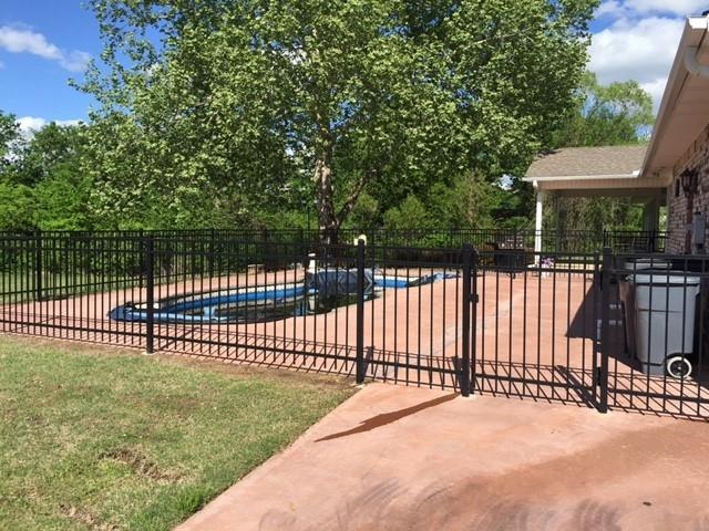 Wrought Iron Fence Asc Fence Companies Tulsa Ok